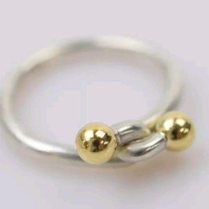 Tiffany & Co. 925&750 ring (us 5.25)